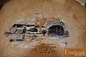 Patrimoine de Paimpont peint par l'artiste peintre Breton : Christian BOULANGER