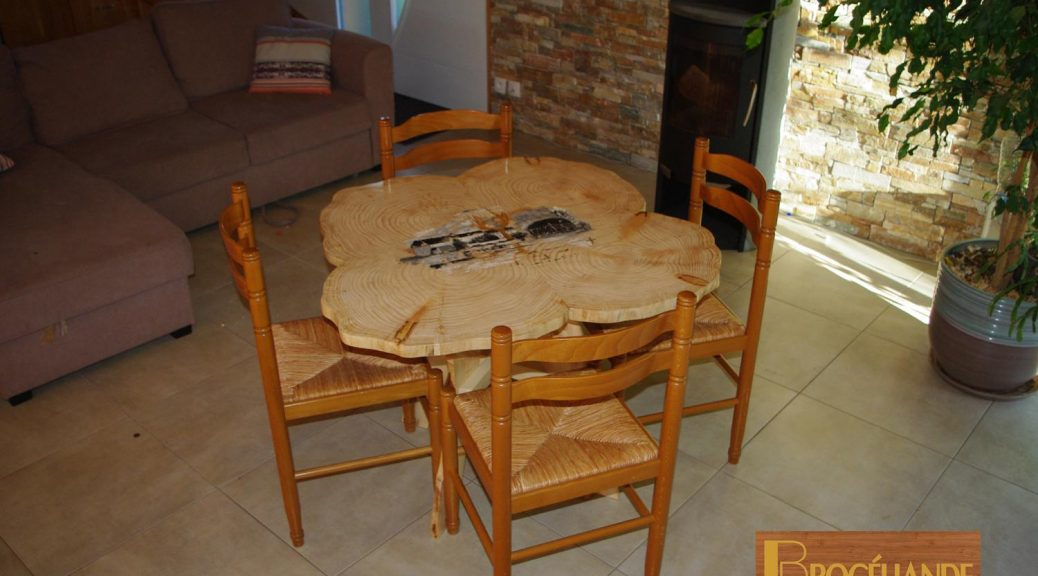 TABLE TREFLE A VENDRE